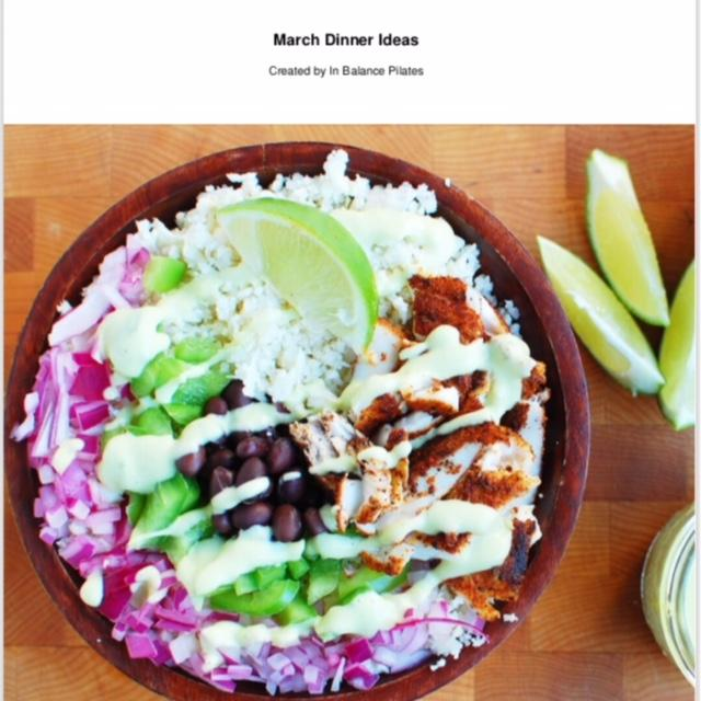 Our free Gift to you! 2 Weeks of dinner ideas Recipe eBook